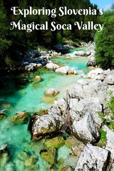 Soča River is an alpine river in Slovenia's only national park, Triglav and it's probably the most beautiful river in Europe! At least that's how we feel about it after spending a couple of days in Soča Valley this summer.