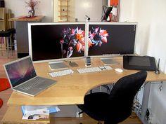 Best Home Computer Setup Ideas - http://www.sniperight.com/best-home-computer-setup/