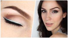 Découvrez le #tuto #maquillage de Cynthia Dulude pour réaliser un double trait de liner.