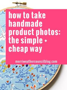 The simple solution to having great product photos for Etsy listings. Learn the perfect lighting, editing apps, and more. Etsy Business, Craft Business, Creative Business, Business Planning, Business Tips, Furoshiki, Fashion Business, Etsy Seo, Photography Tips