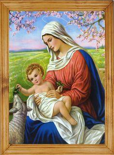 Piękny #obraz w starym #stylu, #Maryja i dzieciątko w klasycznej dębowej #ramie. Może być niezapomnianym #prezentem lub cudowną #pamiątką ważnych wydarzeń. Dodana przez Ciebie #dedykacja będzie idealnym uzupełnieniem.  Zapraszamy http://bit.ly/1NY6KUM