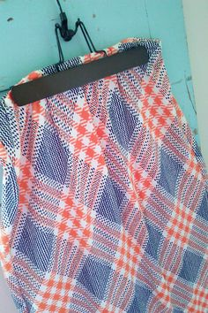 70's Vintage Houndstooth Maxi Skirt / by JulesCristenVintage, $35.00