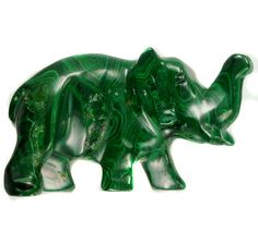 MALACHITE ELEPHANT CARVING 239.75 CARATS  RT 1650 malchite , elephant carving Butterfly Wall, Malachite, Color Splash, Lion Sculpture, Elephant, Auction, Objects, Carving, Statue