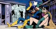 Your source for anything and everything Dick Grayson and Barbara Gordon related! Nightwing And Batgirl, Batgirl And Robin, Batwoman, Dc Comics, Robin Comics, Barbara Gordon, Marvel Avengers Assemble, Marvel Dc, Bat Boys