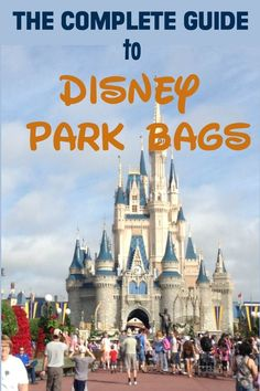 Walt Disney World tips, tricks, secrets, & hacks -- Looking for the perfect bag . - - Walt Disney World Packing List For Disney, Disney World Packing, Disney On A Budget, Disney World Vacation Planning, Walt Disney World Vacations, Disney Travel, Family Vacations, Vacation Ideas, Disney Planning Binder