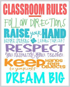 If These Walls Could Speak: Classroom Rules