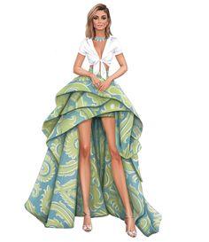 Fashion Design Portfolio, Fashion Design Drawings, Fashion Sketches, Fashion Illustration Template, Fashion Illustration Dresses, Weird Fashion, Blackpink Fashion, Dress Design Sketches, Fashion Drawing Dresses