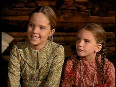 Melissa Sue Anderson and Melissa Gilbert in the Pilot of Little House on the Prairie (1974)