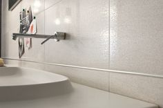 "Glazed Porcelain Wall Tile  12""x24"""