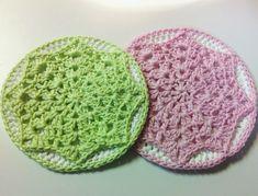 Doily Overlay Potholder - Free crochet pattern by Pammy Sue Scott Crochet Potholder Patterns, Crochet Dishcloths, Crochet Squares, Crochet Motif, Crochet Doilies, Free Crochet, Crochet Circles, Granny Squares, Crochet Home
