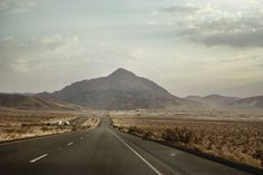 Road in American Landscape - Fototapeter & Tapeter - Photowall