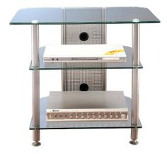 AGR Series- 3 Shelf Audio / Video Stand by VTI Manufacturing Inc. $238.99. 3 Shelf Audio / Video Rack VTI Manufacturing, Inc. specializes in manufacturing metal and wood furniture for home and office use. All products are constructed with durable solid steel, designed for easy mobility and flexibility, and finished smoothly and beautifully. VTI racks offer deeper and taller shelving space to accommodate the most-up-to date electronic equipment. This structure gives...