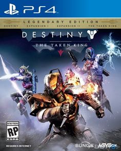 Destiny: The Taken King Cover (Click to enlarge)