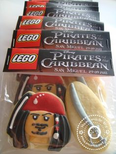 Lego Jack Sparrow tutorial. WARNING:it's in Spanish!