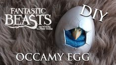 This is me sculpting a Silver Occamy Egg hatchling. An interpretation of the Occamy Egg hatched in the hands of Newt Scamander and Jacob Kowalski! Deco Harry Potter, Theme Harry Potter, Nerd Crafts, Dyi Crafts, Beast Creature, Harry Potter Cosplay, Harry Potter Christmas, Camping Crafts, Jokes