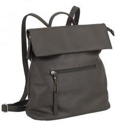 Cityrucksack Lichtblau Galini dunkelgrau Asphalt - Bags & more Backpacks, Fashion, Artificial Leather, Blue, Moda, Fashion Styles, Backpack, Fashion Illustrations, Backpacker