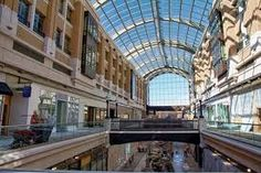 Salt Lake City, Utah Retractable glass roof downtown shopping