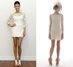 http://www.howtoplanasecondwedding.com/secondweddingdressideas.php has some tips on how to shop for and ultimately select the dress for the second wedding.