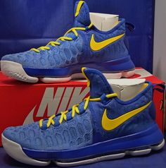 finest selection 05720 b1f29 Nike KD 9 IX iD Golden State Warriors Kevin Durant GSW SZ 8.5 ( 863695-992 )