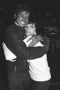 1983, Liza Minnelli & Michael Jackson
