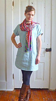 Dorie of blog TumblingBlocks.net/blog Portfolio Tunic Lisette Simplicity 2245