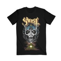 Made by Collage Ghost Logo, All Falls Down, Ghost Official, Tees, Mens Tops, Airplanes, Collage, Sky, Night