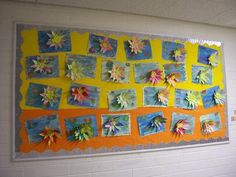 Lilies Monet Display, classroom display, class display, Plants, flower,art, painting, planting, Lilies, artist,Early Years (EYFS),KS1&KS2 Primary Resources