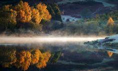 Knapps Loch Autumn light by David Mould on 500px
