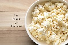 Benefits of Popcorn