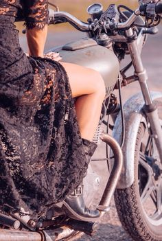 Lace, boots, powerful ride