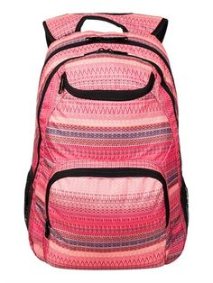 Roxy backpack, love the coral pink.