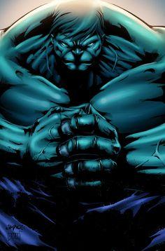 The Incredible Hulk by Jimbo Salgado, colours by DYM
