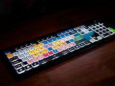 We've created the world's first backlit editing shortcut keyboard. Help us launch this new product today.
