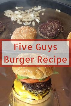 Want to make Five Guys burgers at home? Check out this simple copycat recipe for… Want to make Five Guys burgers at home? Check out this simple copycat recipe for homemade Five Guys burgers. These burgers turn out so good! Check it out. Homemade Burger Patties, Making Burger Patties, Best Homemade Burgers, Homemade Hamburgers, Hamburger Patties Recipe, Juicy Hamburger Recipe, Guys Burgers Recipe, Best Burger Recipe, Guy Fieri Burger Recipe