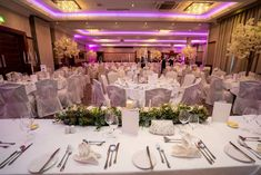 Imagine sitting down to this top table at the Brehon Hotel in Killarney. Photo by Adrian O'Neill Wedding Photographer Wedding Photo Gallery, Wedding Photos, The Island Book, Broken Book, Best Rated, Photo Galleries, Spa, Table Decorations, Dining