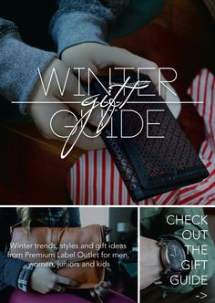 A winter style guide from Premium Label Outlet with trends, styles and gift ideas for men, women and kids from the best brands in skate, snow, surf & style. Surf Style, Winter Trends, Best Brand, Style Guides, Gift Guide, Winter Fashion, News, Gifts, Surfer Boy Style