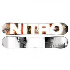 Het @nitrosnowboard Addict #snowboard is een stevig, veerkrachtig en responsief snowboard.