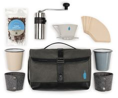 Stylish & Portable Coffee Kit Lets You Enjoy A Well-Crafted Cuppa Anywhere - DesignTAXI.com