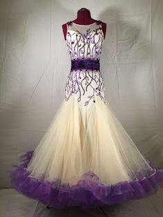 Ballroom dress (perhaps a pale teal instead of the cream?)