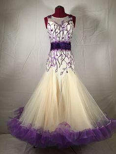 Ballroom dress (perhaps a pale teal instead of the cream?)