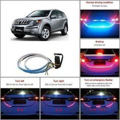Mahindra XUV 500 Car Dicky/Trank LED Light Price 350/-Car 12 LED Fog Lights  Price 350/- Car Accessories List, Car Body Cover, Police Lights, Led Angel Eyes, Reverse Parking, Skoda Fabia, Car Seat Cushion, Roof Rails, Roof Light