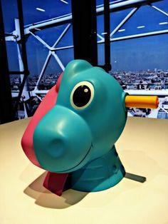 Jeef Koons. Centre Pompidou.