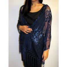 Stunning Silk Evening Shawls Wraps Sale | Yours Elegantly