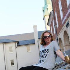 Coffee  Hustle Repeat Ladies! @metalmarvels #BossLady #AlexaCPhotography #Fredericksburg #monday