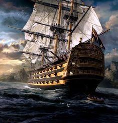 Pirate Art ~ Sarel Theron, South African