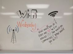 WiFi Wednesday                                                                                                                                                                                 More School Classroom, Classroom Activities, Future Classroom, Classroom Meeting, Journal Topics, Journal Prompts, Journals, Classroom Whiteboard, Whiteboard Games