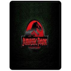 Fleece Blanket- Jurassic Park Custom Fleece Blanket Bedroom Bed Pre ideal Gift 2