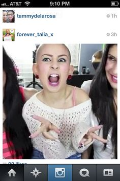Rip talia joy Castellano you are truly missed and a inspiration to millions. I love you! You are a beautiful person. Earth has lost a hero but heaven has gained a angel. Just keep swimming. You are a beautiful make up artist btw. Lol love you!