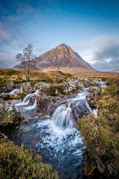 Glencoe Waterfall. Scottish Highlands. Source plus.google.com