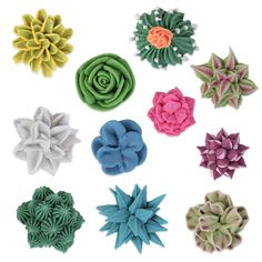 Create lifelike desert desserts with 3D Succulent Set Royal Icing Decorations. These edible ready-made royal icing creations offer a way of decorating cupcakes or cakes hassle free for both profession